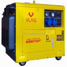 Factory price cooper wire long 5kva diesel generator for sale