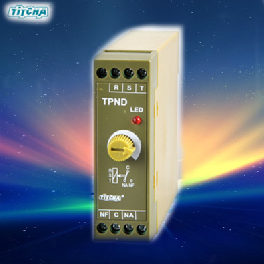 TPND Phase Sequence Relay and Phase Failure Protector Relay Protector