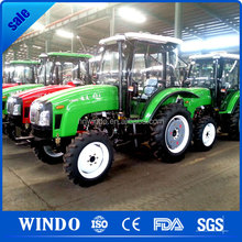 Cheap farm equipment 4x4 mini tractor with loader for sale