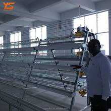 high quality 4 tier layer chicken cage for sale /battery layer chicken cage for Philippines farm