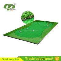 Cheap grass Portable golf green/office putting game/Golf putting green