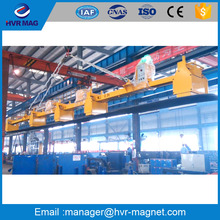 Steel coil battery electro permanent lifting magnets for steel sheets handling