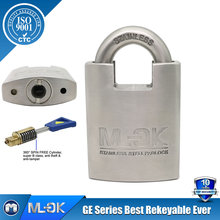 MOK@ 33/50GE strict test passed padlock Positive co-operation timely response changable cylinder security