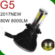 factory led headlamp manufacturers auto 80w led headlight 12v 24v h1 h3 h4 h7 h8 h11 h13 9004 9005 9006 9007 led headlight bulbs