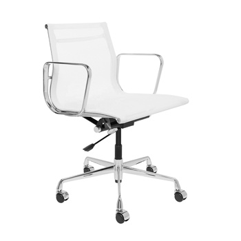 Top quality white mesh office chair