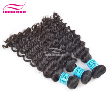 new style high quality remy 100% brazilian virgin deep wave hair