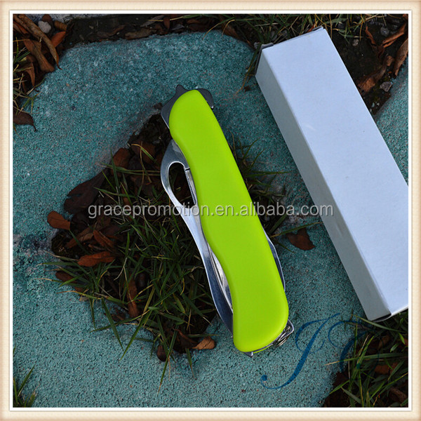 2015 Hot Sale Outdoor Survival Tool Multifunctional Pocket Rescue Knife