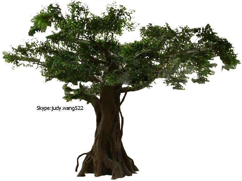 2014 Sj At083 Customized Artificial Banyan Tree For Landscape ...