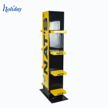 Pop Cardboard Store Hot Selling Shoes Floor Display Stands,Custom Foldable Shoes Store Display Racks