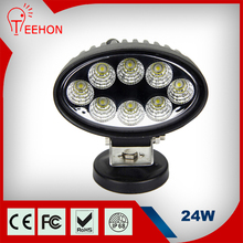 24W 1760lm IP67 IP68 IP69K waterproof high power super bright LED innovative car accessories 12V dc work light