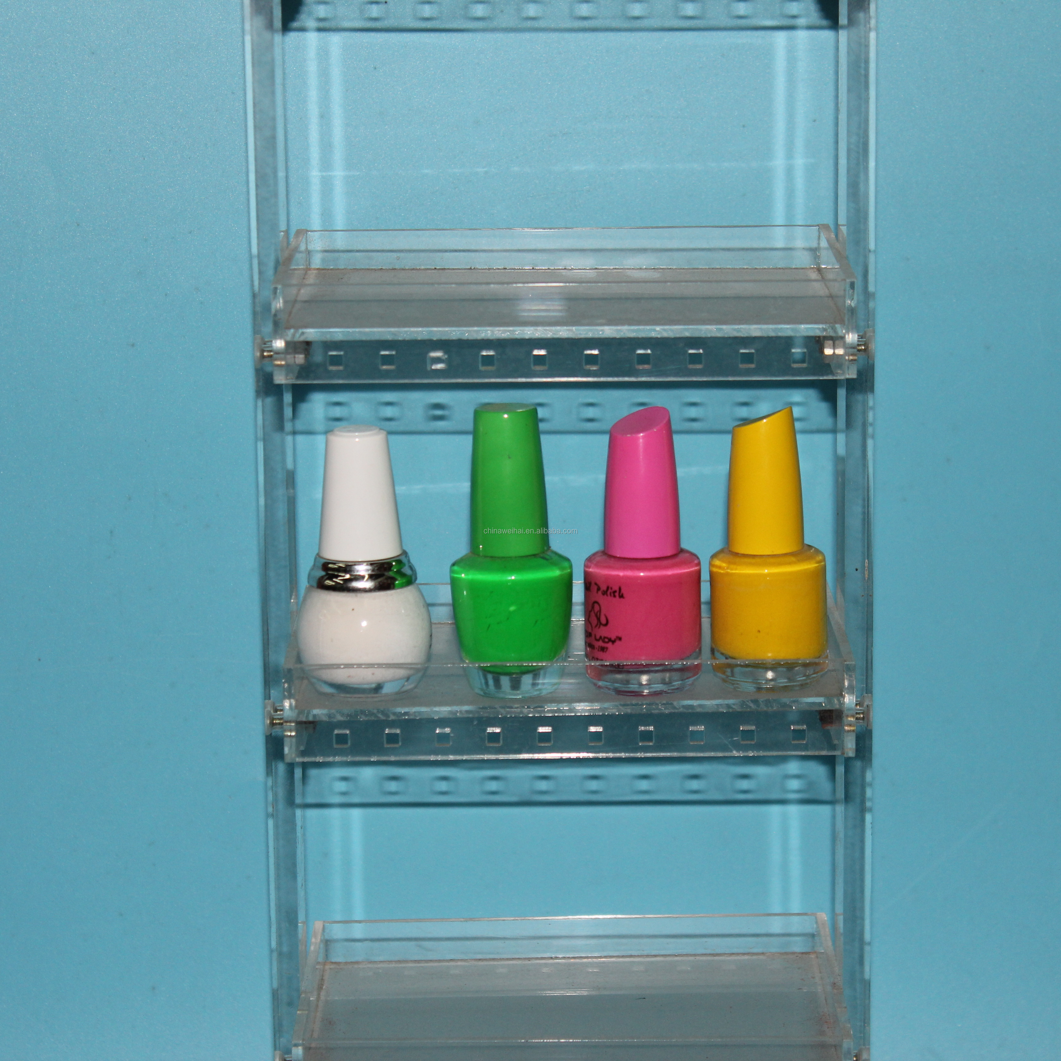 5Tiers Clear Acrylic Eyelash Display Stand