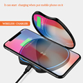 Mirror fast qi wireless charger pad for lady market
