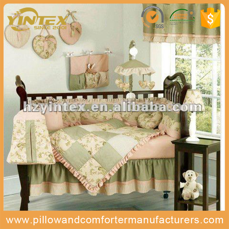 Wholesale Cheap European Style Cotton Crib Baby Bedding