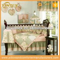 Wholesale Cheap European Style Cotton Crib Baby Bedding