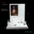 White Color Counter Top Jewelry Display Set for Ring Necklace Acrylic Jewelry Display Stand