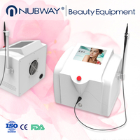 Hot sale 30mhz high frequency laser spider vein removal / rbs vascular / skin tag removal machine