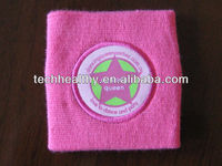 Promotional Sport terry cloth Cotton Wristband