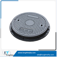 Main road Used Composite Manhole Cover D400 EN124