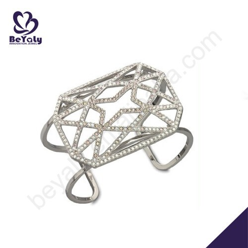 wholesale silver exquisite adjustable bangle