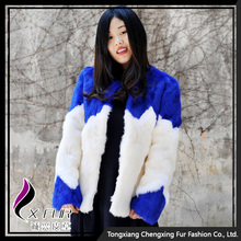 CX-G-A-104 Wholesale Rabbit Fur Fashion Clothing Women Coat