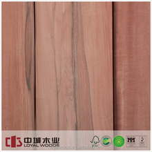 Masterpiece natural wood veneer Applewood for furniture,decoration,plywood,etc