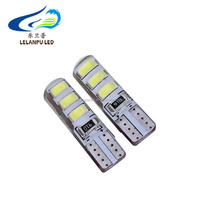T10 led bulb W5W 5630 6Led Car Led Light CANBUS 6SMD 5730 t10 silicone w5w Turn light Reverse License Plate