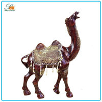 Fashion useful garden decor resin camel figurines