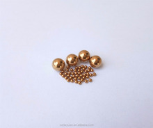 High quality 1mm 2mm 2.5mm 3mm H62 / H65 small solid copper/brass ball