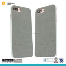 new fashion cement concrete phone case for iphone 7 Plus cell phone back cover