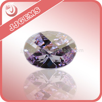 Amazing price of round cut Lavender cubic zirconia gems for sale