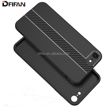 DFIFAN New Arrivals Carbon Fibre Hot Selling Products for iphone 8 Case Mobile Covers Case for Apple iphone 8