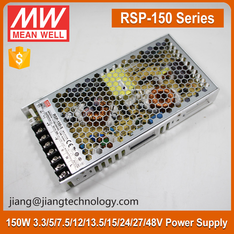 Mean Well RSP-150-3.3 99W 3.3V 30 Amp Switch Mode Power Supply