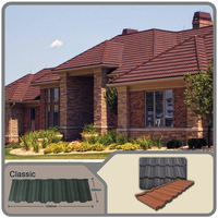 Excellent quality hot sale !stone coated roof tiles/corrugated metal roofing tiles/colorful stone coated metal roofing tiles