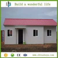 Simple assemble prefab house low cost 60sqm prefabricated house made in China