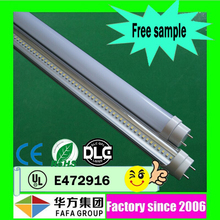 Free sample CRI>80 high brightness 1200mm 18w t8 led tube t8 to replace 36w fluorescent