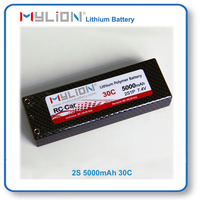 Mylion Lithium Polymer Battery 5000mah 7.4V 30C For RC Race Car