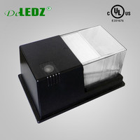 UL cUL listed Outdoor Lighting 18W LED Slim Wall Packs with photocell 5 years warranty