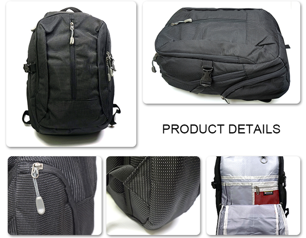 High quality cheap price against-theft laptop backpack travel bag water resistant 50L