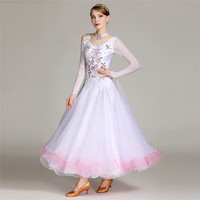 Performance Wear Rhinestone Adult Ballroom Dance Wear