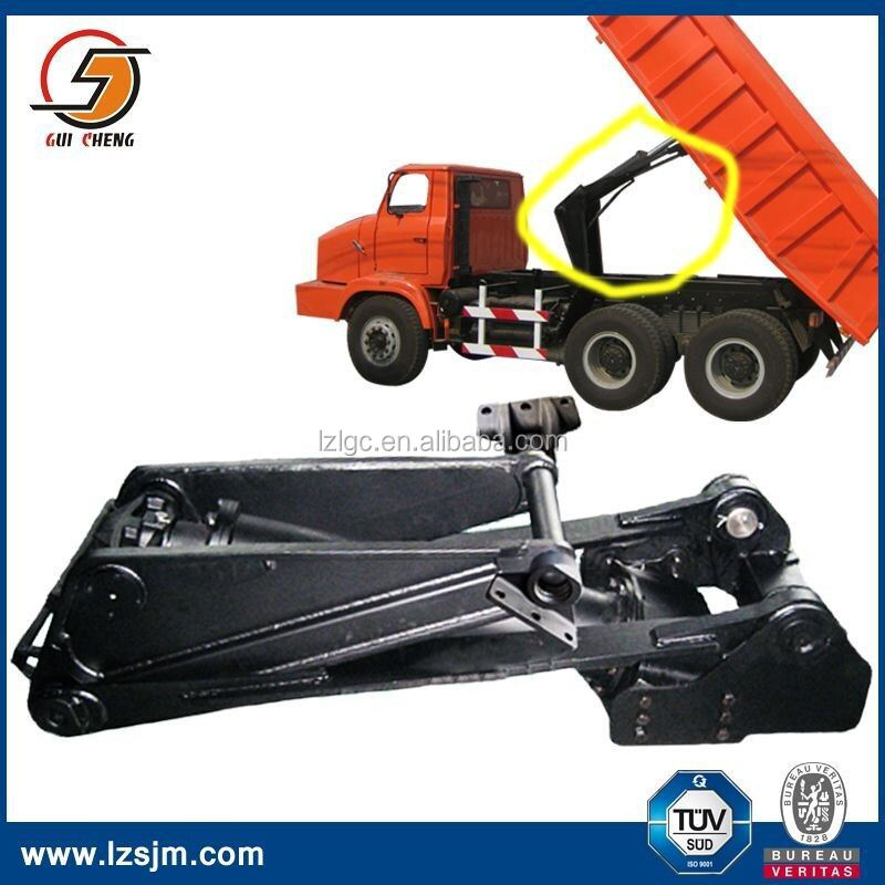 Dump truck chassis system underbody used truck hoist