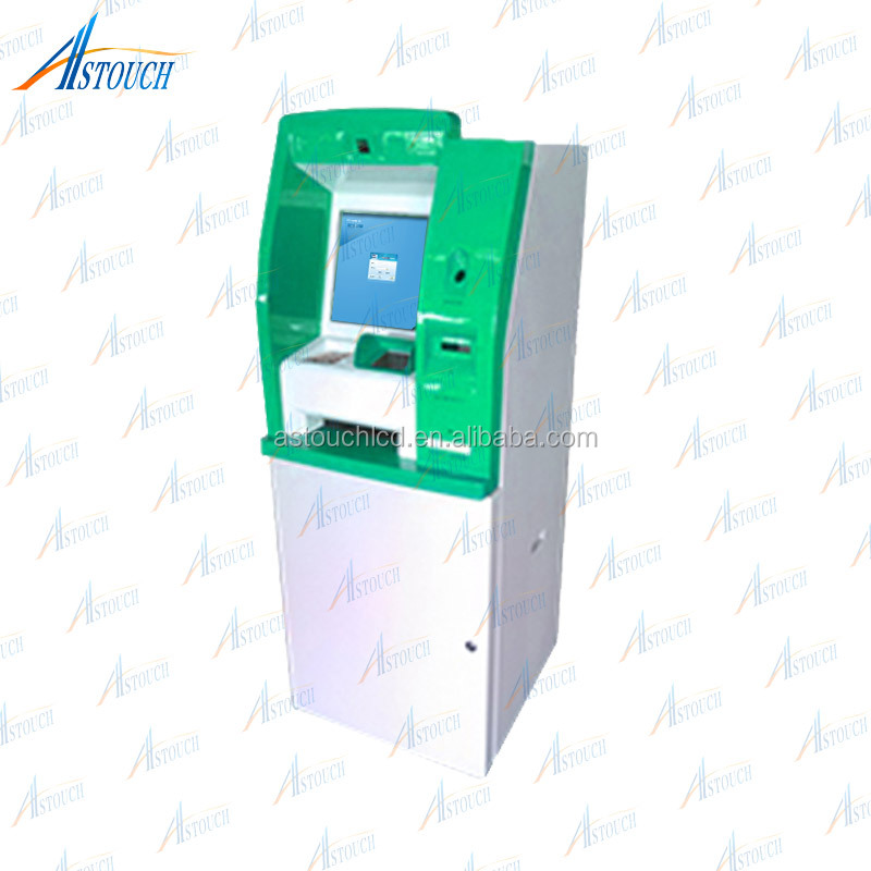 High Quality self service terminal kiosk for mobile phone /payment kiosk pink and white outdoor terminal multi