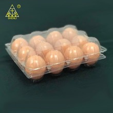 Disposable 12 packs plastic egg tray