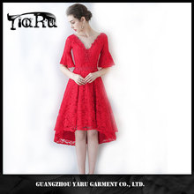 New arrival v neck red bandage dress for party,dinner,wedding,meeting