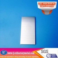 99 95 Polished Tungsten Plate For