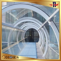 Super quality useful tempered glass fence panels deck railing