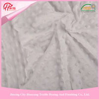 100% Polyester polyester garment fabric new short pile fleece knitting fabric