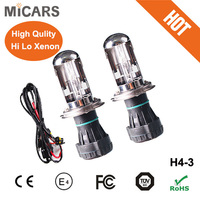 Factory Direct Wholesale Xenon 12V H4 Hi Lo HID Xenon Bulb Hot Selling High Quality H4 Xenon Bulb