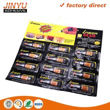 OEM ODM welcome Strong adhesive super glue adhesive universal bonds new quality 12 pack one shot