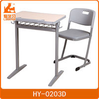 Modern detached table and chair science furniture for schools