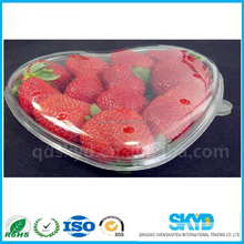 wholesale thermoformed plastic clamshell packaging-- vacum-forned container/pitaya plastic package